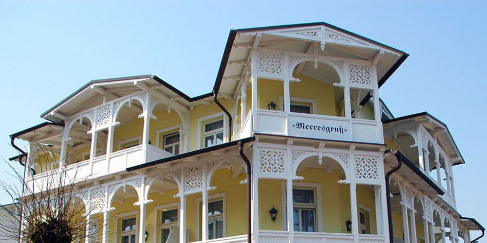 baederarchitektur villa meeresgruss goehren insel ruegen | Haus Friedrich Göhren
